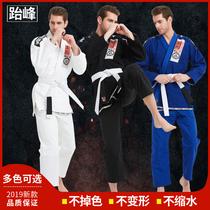 Jiu jitsu brésilien arts martiaux vêtements anti-usure vêtements pour hommes et femmes professionnel formation Jiu Jitsu vêtements BJJ gi guerriers classique adulte épaissie