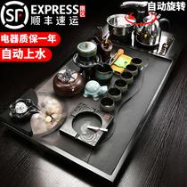 Yu Deu Jinshi кунг-фу чайный набор набор фиолетовый песок бытовой воды распыленной чайной тарелки автоматической индукционной плиты чтобы сделать чай