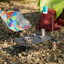 Black Deer outdoor supplies folding table stall camping picnic table hiking lightweight aluminum portable table