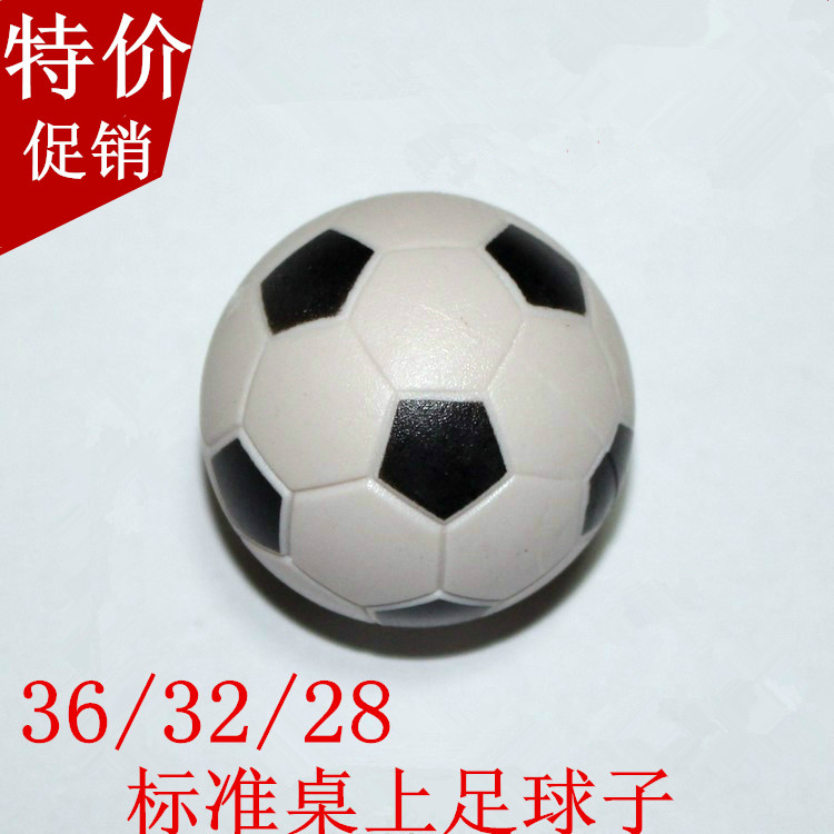 Special standard table Soccer machine large ball childrens toy desktop Soccer Billiards Ball 30