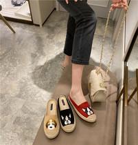 ZuoZhiYouZhi-Fisherman Shoes Women 2020 ранняя весна новая сумка полу-тапочки INS Harbour Wind Lazy Muller Shoes