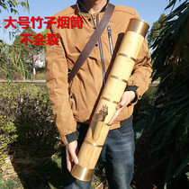 Yunnan Minority Specialty Crafts bamboo pipe large water pipe cigarette long cigarette gun cigarette pot