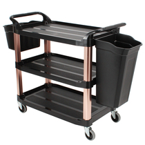 Dining Car Trolley Three-storey restaurant delivery dining car receiving dining car collection cart recycling plate collecting car hotel tableware cart