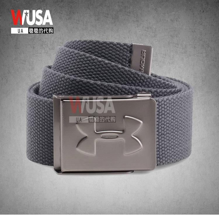 [The goods stop production and no stock]UnderArmour An Demaspils Golf Course with canvas waistband adjustable sports belt