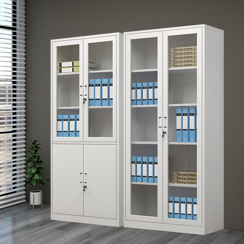 Office tin file cabinet with lock information cabinet File cabinet Bookcase Financial certificate cabinet Low cabinet Drawer locker