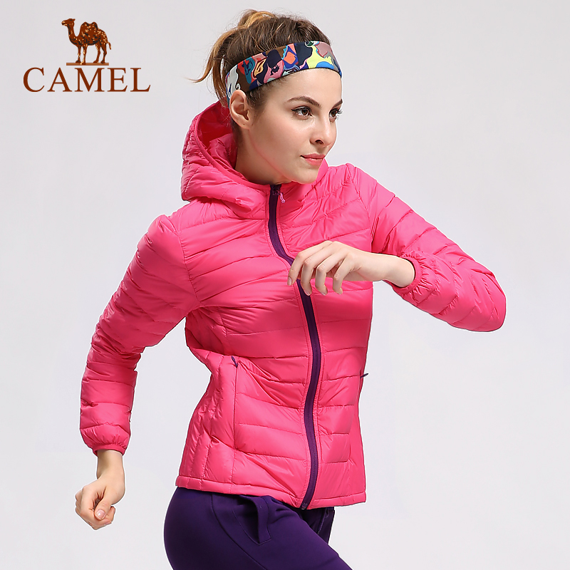 [The goods stop production and no stock][2016 new products] camel outdoor sports down jacket light slim men and women couple down jacket