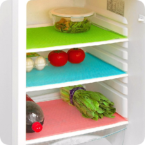 Can be cropped anti-fouling refrigerator pad anti-mildew moisture-proof easy to clean washable refrigerator mat