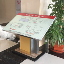 Landing Vertical Guide Table indicates floor Guide Plate Department card General level Chart Display horizontal Index Table guide plate
