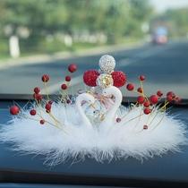 Car decoration high-end creative car interior lovers swan goddess car decoration supplies big net red aroma