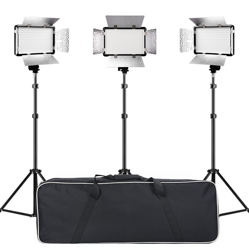 Shenniu video light set LED308C soft light film and television lighting photography light studio micro film anchor