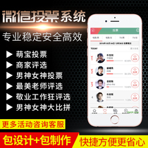 Micro Mall voting haggle system to help activities on behalf of the Release platform service rental public number code small program