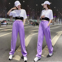 Jazz dance practice clothing womens summer thin section jazz pants sexy umbilical dance top modern dance performance suit