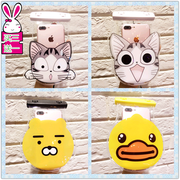 Cute cartoon Apple mobile phone waterproof bag set of diving underwater camera touch screen HUAWEI oppo Meizu vivo general