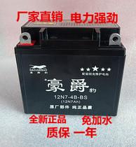 12n7-4a motorcycle battery 12v battery 7ah Drill Leopard 125 General Loncin 150 Suzuki dry battery