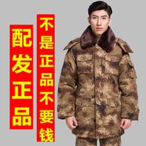 Desert camouflage coat cold protection warm clothing digital winter camouflage training coat military cotton coat