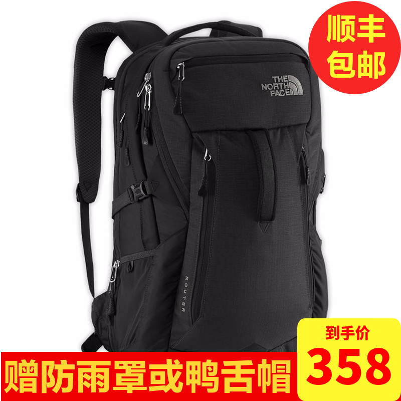 The North Face Outdoor Backpack for Travel, Hiking, Mountaineering, Shoulder Pack, Men's Computer Pack