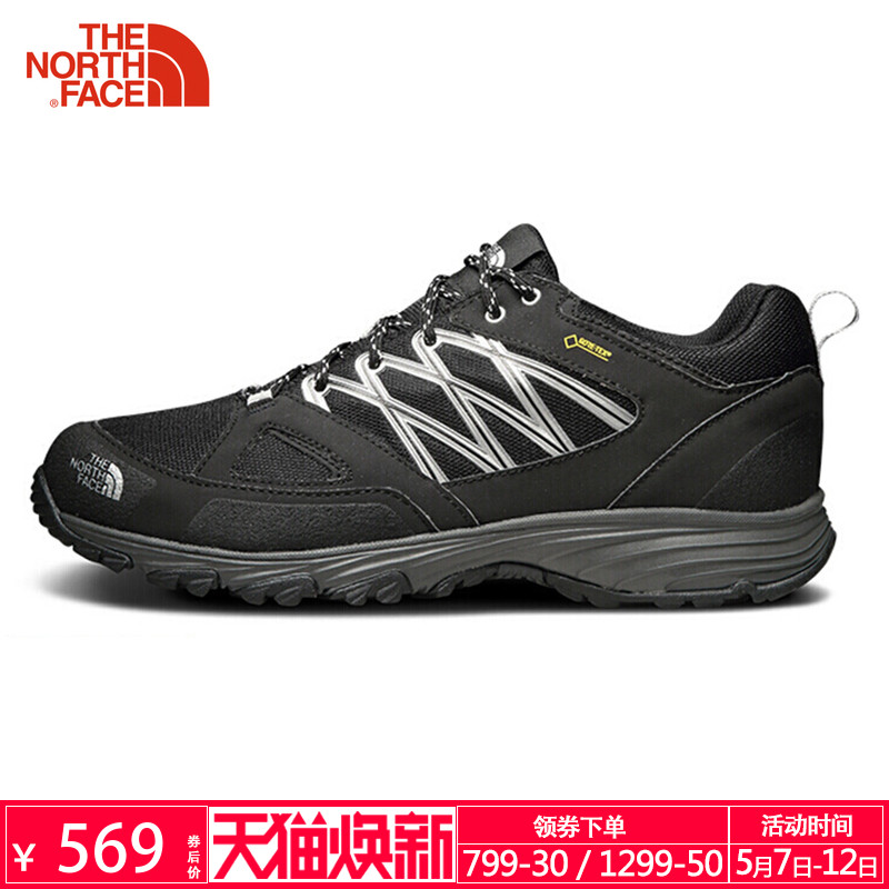 TheNorthFace North spring and autumn lightweight waterproof breathable wear sports outdoors men's hiking shoes 32XV