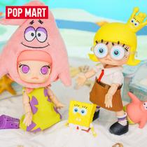 POPMART BUBBLE MART MOLLY SPONGEBOB SquarePants Big Star movable doll BJD creative gift ornaments