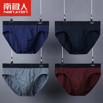 Antarctic 4 boxed mens underwear mens briefs cotton youth breathable sexy cute big size pants