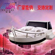 Shanghai theme Boat Bed hotel water beds hotel bed &  breakfast couple bed vibration bed couple Bed