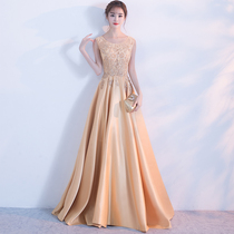 Banquet Noble fashion elegant princess sexy show thin evening dress