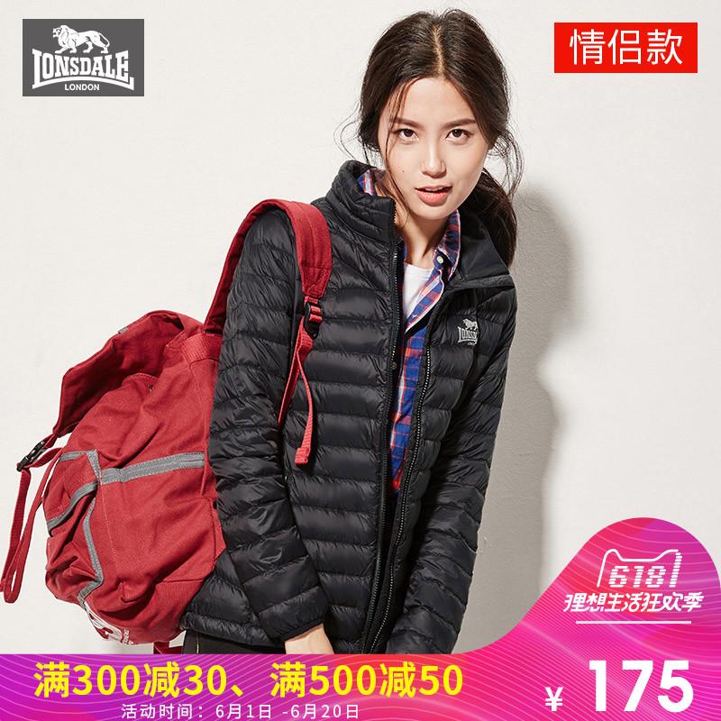 Lonsdale Dragon and Lion Dell Outdoor Down Garment Ultra-Light and Warm Down Garment for Women and Men 132321084