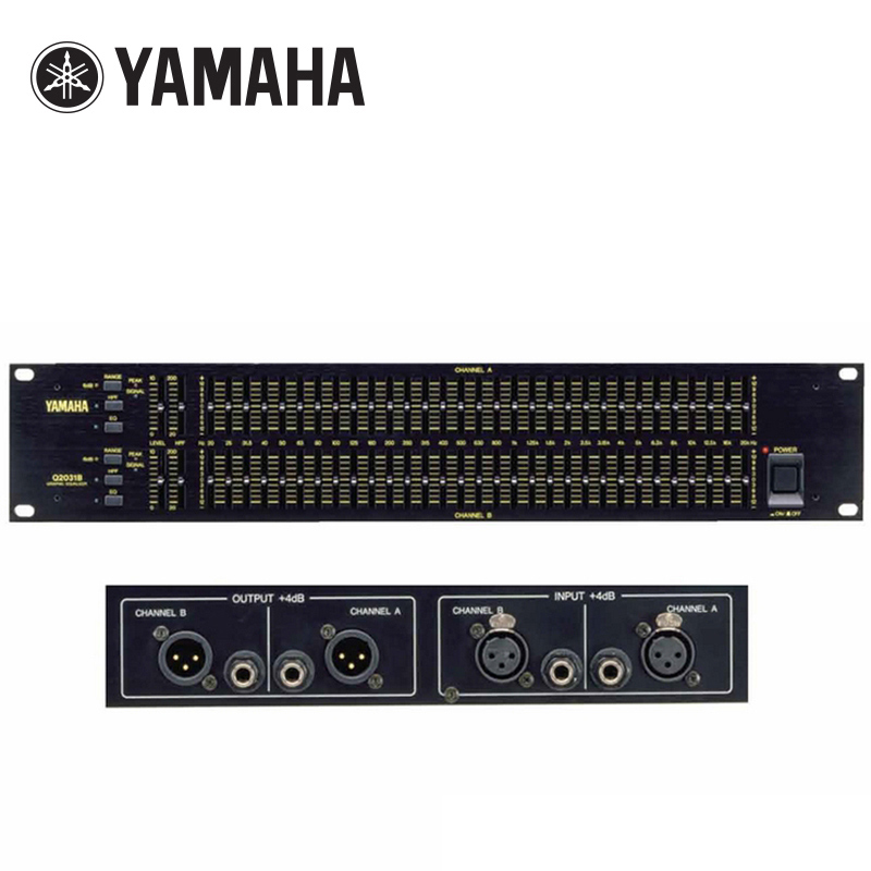 Yamaha/Yamaha Q2031B Equalizer 31-segment stage original suppression howling audio processor