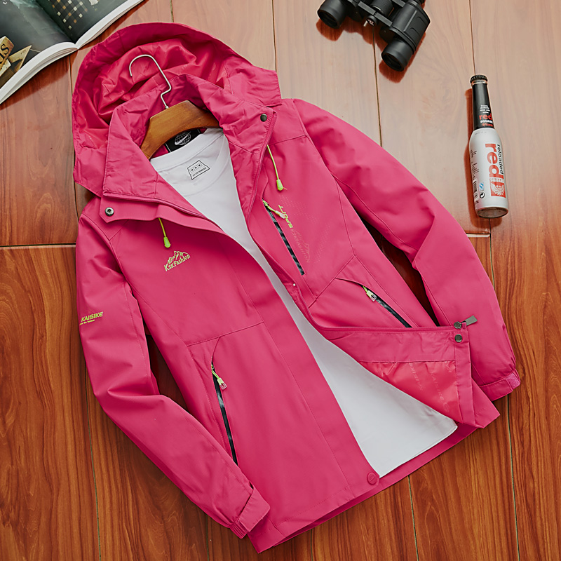 Spring and autumn new outdoor single-layered jacket couple thin section men and women seasons mountaineering suit waterproof windproof large code tide Spring and autumn new outdoor single-layered jacket couple thin section men and women seasons mountaineering suit waterproof windproof large code tid