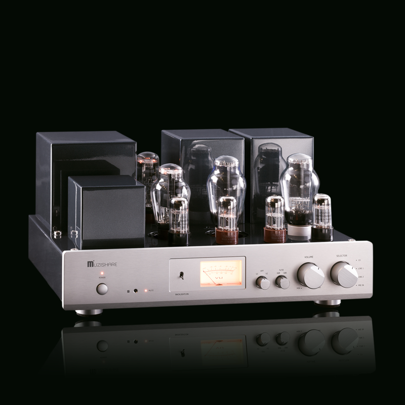 MUZISHARE X-300B MESIC COMBINED TUBE POWER AMPLIFIER BILE MACHINE POWER AMPLIFIER/PURE AFTER STAGE