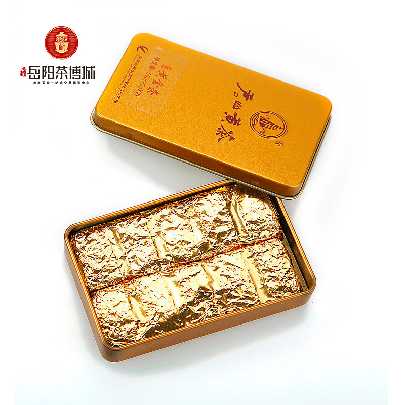 Junshan Compressed Yellow Tea Luzhou-flavor Yueyang Specialty 50g Small Gold Bar