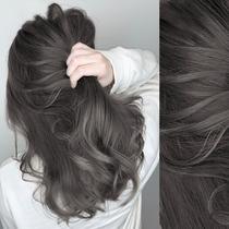 Black tea gray hair dye 2021 popular color white own at home dye bubble bubble plant pure cream Female male