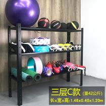 Gym storage rack Yoga gym ball mat Dumbbell Sports equipment Storage rack Private teaching gadgets storage rack