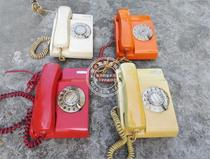 Old classic old Hong Kong style dial dial multi-color telephone Bar club KTV film and television props order in large quantities