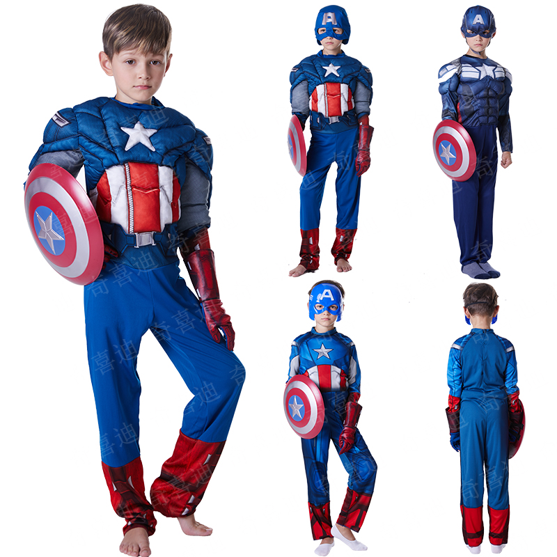 Christmas Halloween Cosplay Avengers League Spider-Man costumes