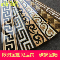 Wave wire tile kicking line waist line wave line drawing-room corridor parquet flower 800x150 microcrystalline Tile Edge