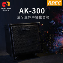 Rdec AK-300 Band rehearsal wireless Bluetooth stereo electric drum electronic organ keyboard speaker listening stereo