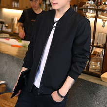 Men's jacket Spring, Autumn and Winter 2019 new Korean fashion baseball dress, slim and handsome autumn jacket