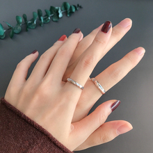One deer has your road sterling silver couple ring, a pair of female and male rings, Tanabata Valentine's Day, a souvenir gift for girlfriend