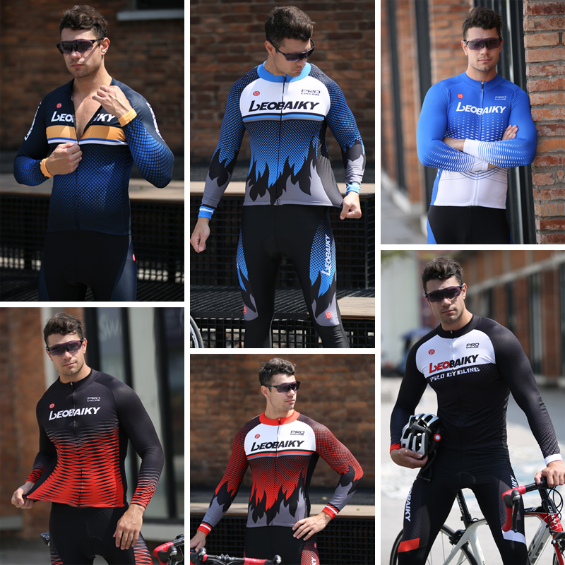 Long sleeve suit for men and women mountain bicycle in spring, summer and Autumn