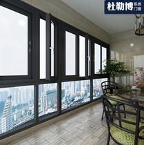 dlb quality custom aluminum double glass doors and Windows system doors and windows balcony windows soundproof windows sliding doors sun room