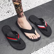 Флип-флоп мужской прилив летом противоскользящие мужские сандалии корейская тенденция личности носить пляж сандалии мода тапочки