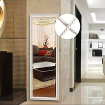 Modern closed Side strip mirror border decoration living room self-adhesive wall bread side TV glass plaster line barber shop outfit