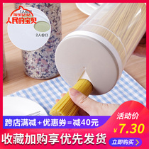 Kitchen Noodle Box grain plastic storage tank household large capacity food seal storage box