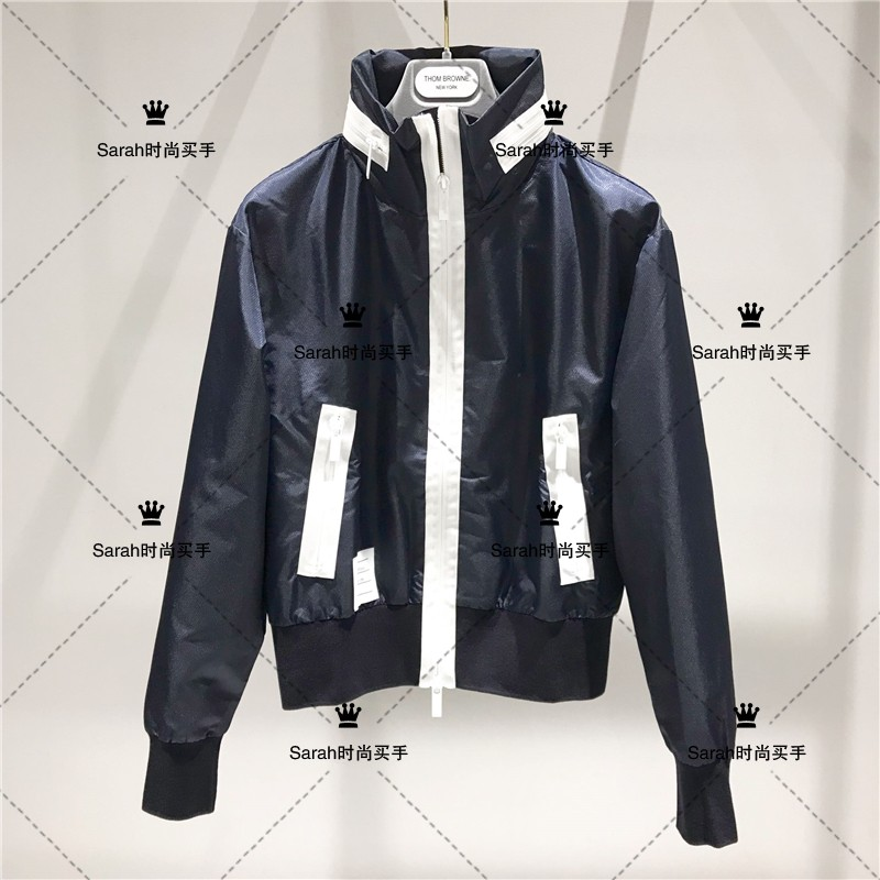 Thombrowne mesh t-shirt TB mens and womens sports casual jacket jacket