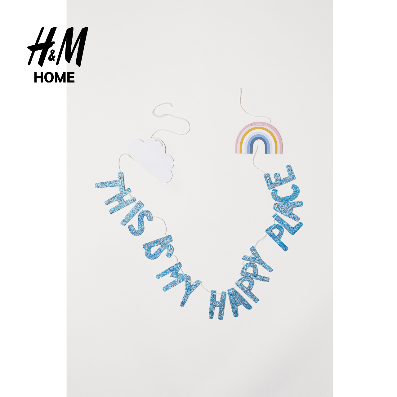 H&M Home Appliances Wall Decoration Fashion Simple Style Triangle Flag HM0636371