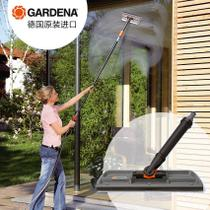 Yuanyiba selected Germany imported Gardiner take long handle 2 in 1 glass through water clear wash rubber scraping window device