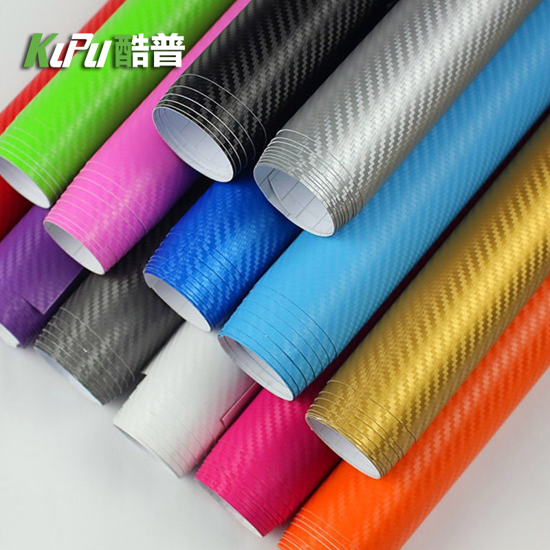 5d carbon fiber sticker black 3d carbon brazing film center control stand modified body attached to the car interior film color modification film