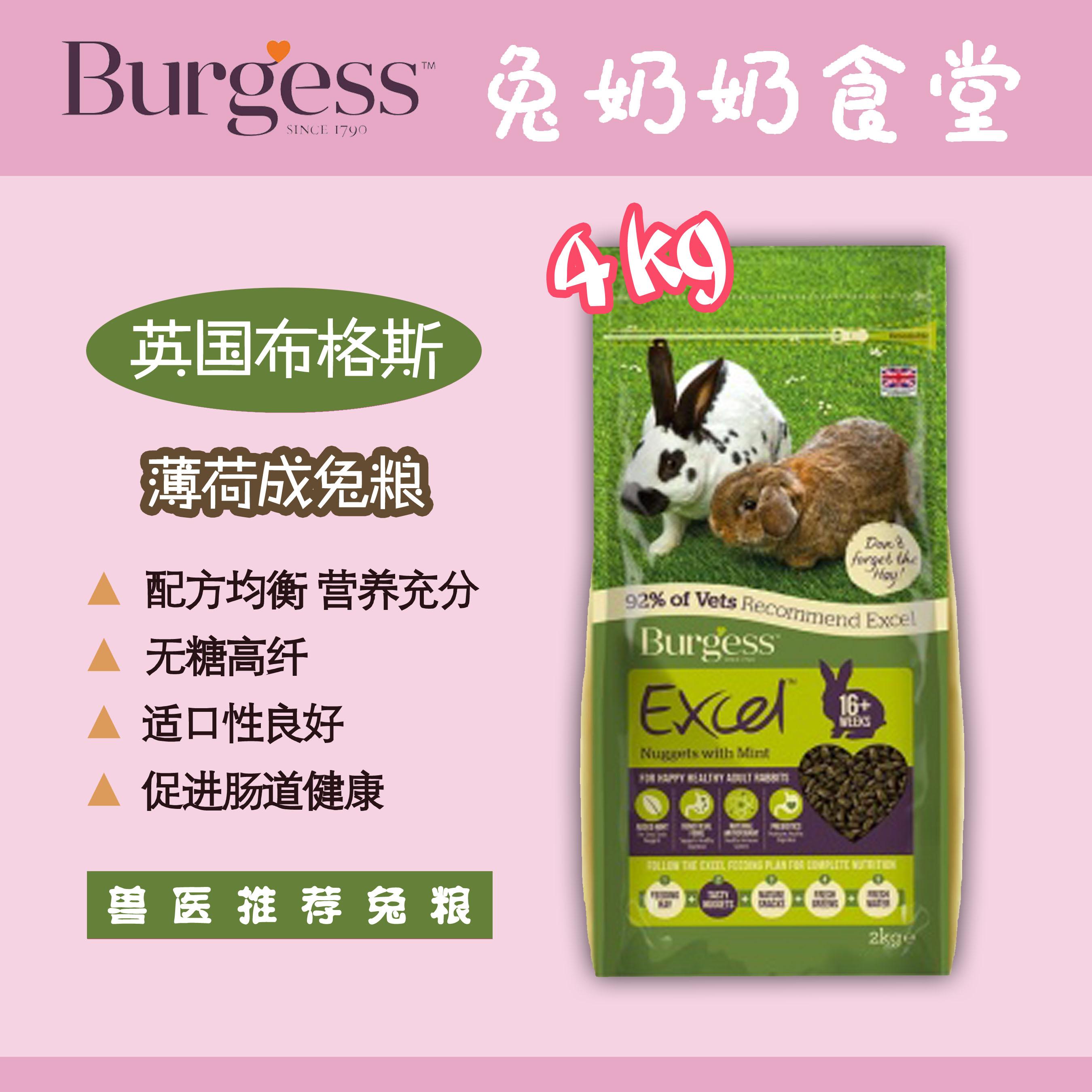 Spot Burgess Bugus Мята взрослый кролик зерна 4KG срок годности 2021 9