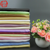 Factory Direct Sales Simple pure color cloth curtain window yarn Lining semi-shading eight beauty satin anchor background finished curtain customization