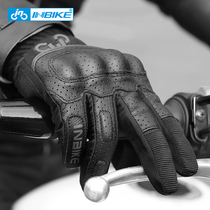 Inbike motorcycle gloves male riding motorcycle four seasons cycling summer touch screen drop breathable Knight equipment